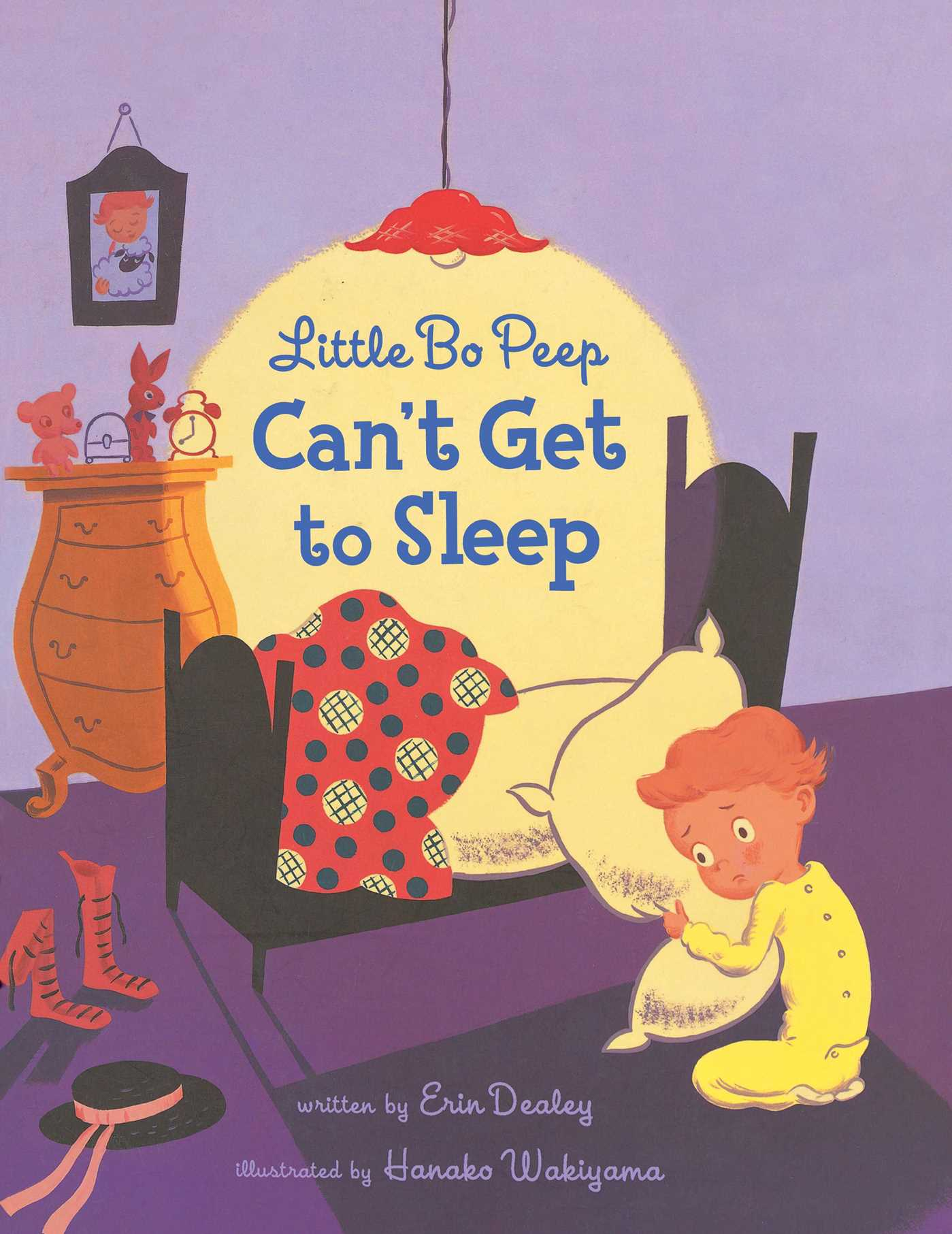 Little Bo Peep Can't Get to Sleep #erindealey